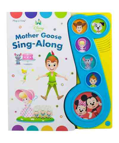 Zulily: Mother Goose Sing-Along Board Book ONLY $9.99 (Reg. $14.99)