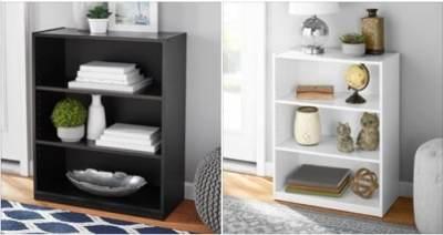 "Walmart: Mainstays 31"" 3 Shelf Bookcase, Just $24.88 (Reg $28.88)"