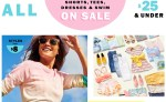 Old Navy: All Tees, Shorts, Dresses and Swim wear are on Sale!!!