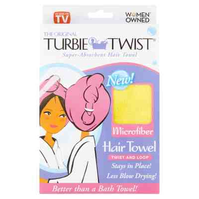Walmart: Original Microfiber Super-Absorbent Hair Towel, Just $4.98 (Reg $16.98)