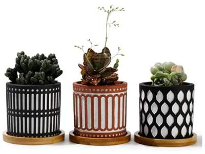 Amazon: Plant Pots with Drainage Holes for $5.99 – $17.99 (Reg. $11.99 – $35.99)
