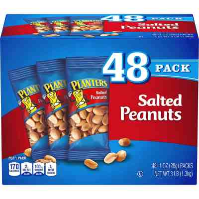 Amazon: PLANTERS Salted Peanuts, 1 oz. Bags As Low As $7.11