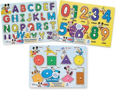 Amazon: Melissa & Doug Disney Alphabet Puzzle Bundle for $12.24 (Reg. $17.99)