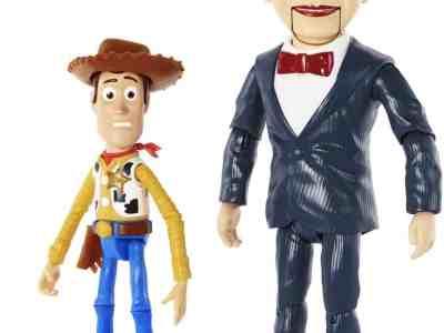 Amazon: Pixar Disney Toy Story Benson and Woody Figure 2 Pack, Just $20.95 (Reg. $50)