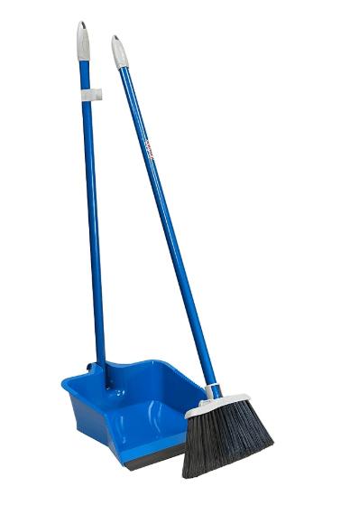 Staples: Quickie Flip-Lock Dust Pan & Lobby Broom For $9.08 (Reg.$12.59)