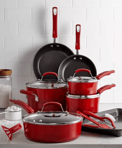 Macy's: Rachael Ray 14-Pc. Nonstick Cookware Set for $99.99 (Reg. Price $299.99)
