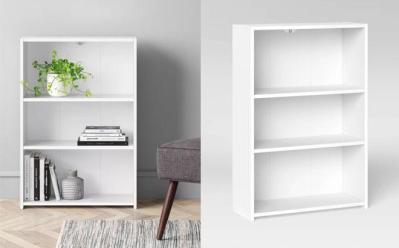 Target: Room Essentials 3-Shelf Bookcase $15.99 (Reg $26) – 3 Colors!