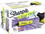 Amazon: 12 Pack Sharpie Clear View Highlighter, Chisel Tip for $6.29