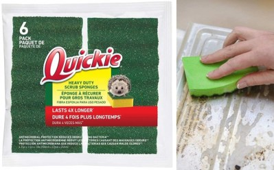 Staples: Quickie Durable Scrub Sponges 6-Pack for JUST $3 + FREE Shipping