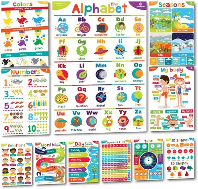 Amazon: Sproutbrite Educational Posters and Classroom Decorations for Preschool, Just $12.40 (Reg $16.95)