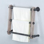 Amazon: Bathroom Towel Shelf For ONLY $29.99