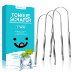 Amazon: Tongue Scraper Oral Cleaner Tongue Brush Dental Kit, Just $6.99 after code!