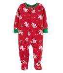 Kohl's: Toddler Girl Unicorn Fleece Footie PJs ONLY $4.80 (Reg $20)