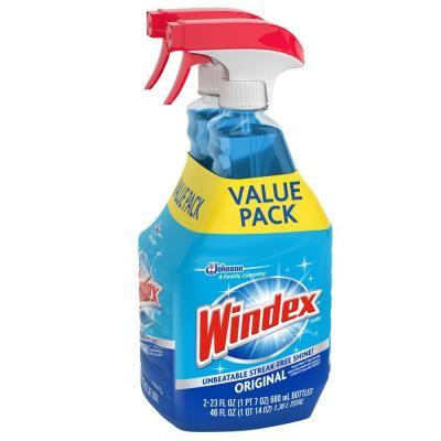 Walmart: Windex Glass Cleaner Trigger Bottle $5.93