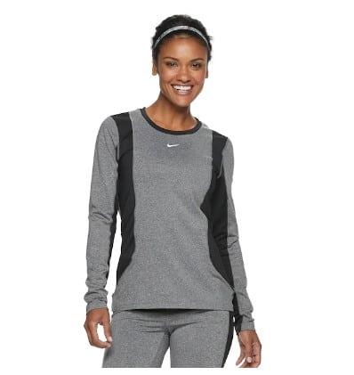 Kohl's: Women's Nike Dri-FIT Long-Sleeve Training Top JUST $38.50 (Reg $55)