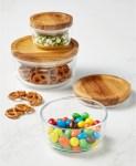 Macy's: 6-Pc. Storage Set with Wood Lids Only $26.24 (Reg. $58.99)