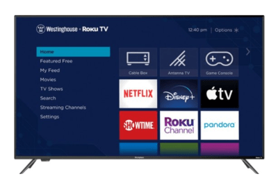 Best Buy: Westinghouse 65-inch Class LED Smart TV w/Roku TV for $399.99 (Reg. $599.99)
