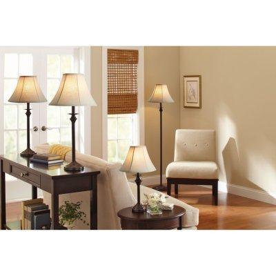 Walmart: Better Homes & Gardens 4-Piece Lamp Set, Bronze Finish For $79.99