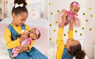 Trget: Luvabella Newborn Interactive Baby Doll for ONLY $27.49 (Reg $55)