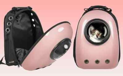 BCP: Bubble Window Pet Carrier Traveler Backpack ONLY $39.99 + FREE Shipping (Reg $82)