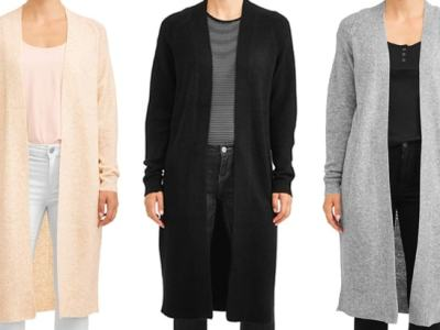 Walmart: Time and Tru Duster Women's Cardigan for JUST $14.99 (Regularly $25)