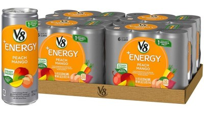 Amazon: V8 Energy Drinks 24-Pack From ONLY $10.47– That's 44¢ per can!