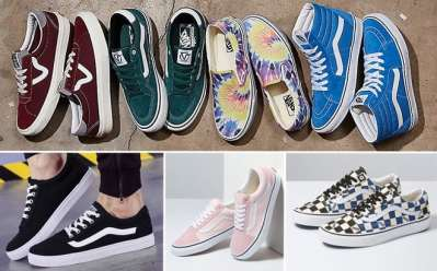 Kohl's: Vans Shoes Starting at ONLY $27 + FREE Shipping (Reg $65) – Lots of Styles!