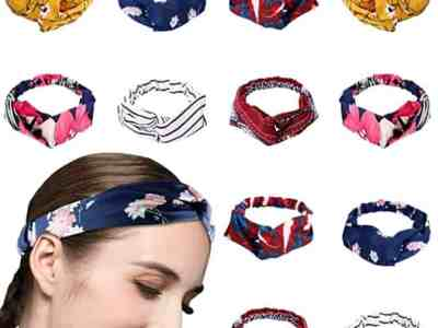 Amazon: 12 Pack Knotted Headbands for Women for $8.99 (Reg. Price $14.99)