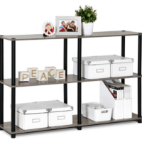Furinno 3-Tier Double-Size Storage $29.52 (Reg. $37.09)