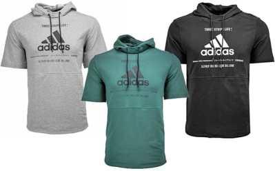 Proozy: Adidas Men's Post Game Short Sleeve Hoodie JUST $18 (Reg $50) – 3 Colors!