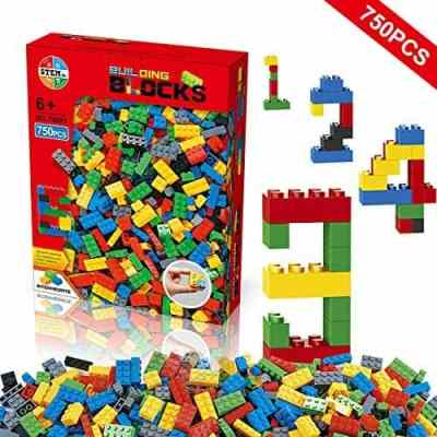 Amazon: Building Blocks 750 Pcs Set, Building Bricks For $11 (Reg. $16)
