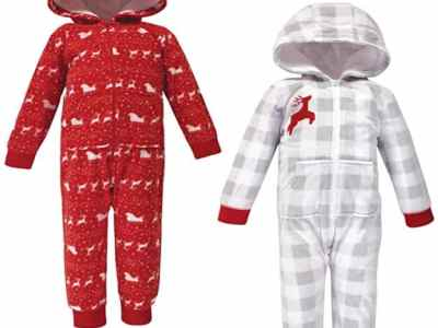 Amazon: Baby Unisex Fleece Jumpsuits, Just $15.60 (Reg $26.99)