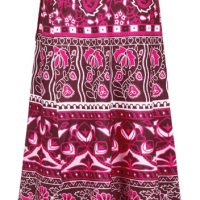 Amazon : Boho Print High Waist Side Wrap Skirt Just $11.99 W/Code (Reg : $29.99)
