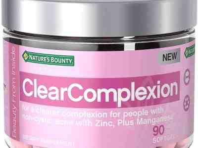 Amazon: Nature's Bounty Clear Complexion Multivitamins $12.77 (Reg. $19.99)
