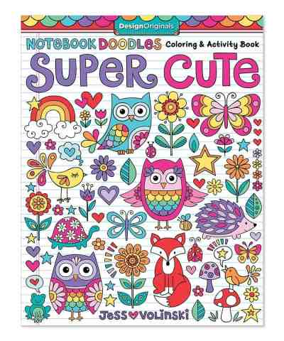 Zulily: Notebook Doodles Super Cute Coloring Book ONLY $5.99 (Reg. $7.99)