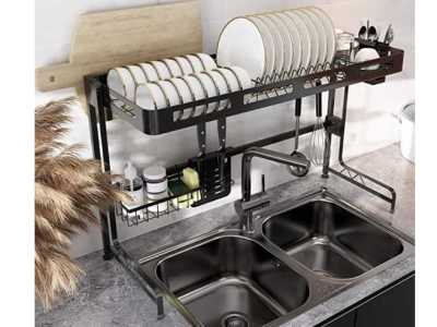 Amazon: Over Sink Dish Drying Rack for $64.99 Shipped! (Reg. Price $129.99)