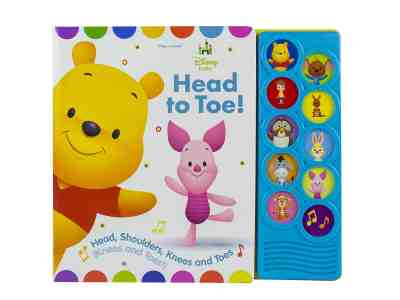 Amazon: Disney Baby Winnie the Pooh Head to Toe! Sound Book Only $8.37 (Reg. $17)