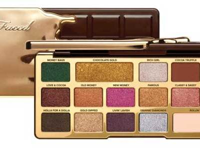 HSN: Too Faced Chocolate Gold Eye Shadow Palette $24.50 (Reg $49)