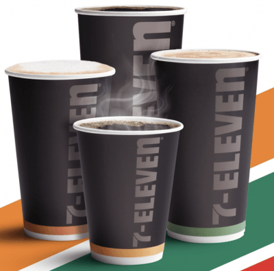 Free Coffee at 7-Eleven through August 9, 2020