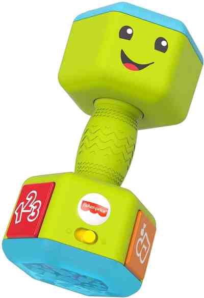 Amazon: Fisher-Price Laugh & Learn Countin' Reps Dumbbell, Just $7.88