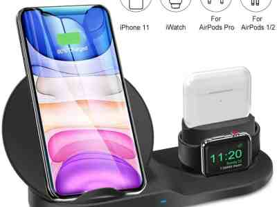 Amazon: 3 in 1 Wireless Charger for iPhone For $16.99