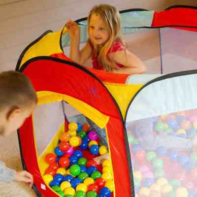 Amazon: Kiddey Ball Pit Play Tent for Kids, Just $19.54 (REG. $29.99)