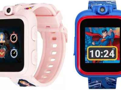 MACY'S: PlayZoom DC Comics Touchscreen Smart Watch Just $29.99 FREE Shipping (Reg $75)