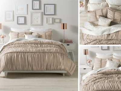 Kohl's: LC Lauren Conrad Comforter Set ONLY $61 (Reg $220) + $10 Kohl's Cash