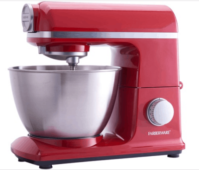 Woot: Farberware 6 Speed 4.7-Quart Professional Stand Mixer, Red Now $110.99