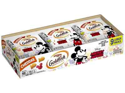Amazon: Pepperidge Farm Goldfish Special Edition Crackers with Disney's Mickey Mouse for $3.74