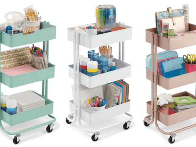 Michaels: Lexington 3-Tier Rolling Carts $29.99 (Regularly $60)