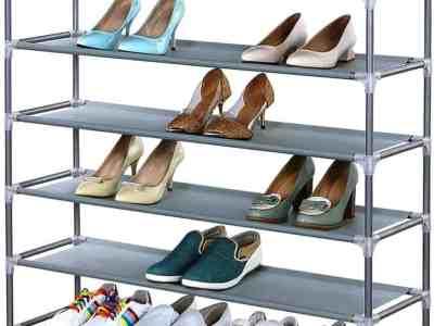 Amazon: Non-Woven Fabrics & Steel Shoe Rack For $22.19 (Reg. $73.99)