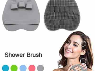 Amazon: 1 Pack Silicone Shower Massage Scrubber – Gray for $2.99 (Reg. $5.99)