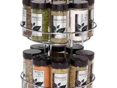 Walmart: Kamenstein 16-Jar Revolving Chrome Wire Spice Rack For $19.97